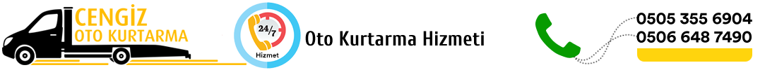 Cengiz Oto Kurtarma Logo